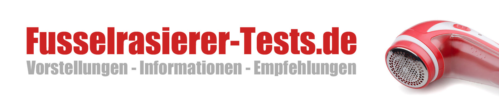 Fusselrasierer-Tests.de